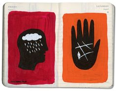 The R Lab of Creativity: Inside the Sketchbooks of Beloved Illustrators and Designers | Brain Pickings