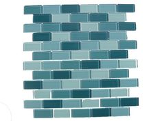 Aqua Mosaic Subway Glass Tile / 11 sq ft by Glass Tile Factory, http://www.amazon.com/dp/B005HEJC76/ref=cm_sw_r_pi_dp_vLUHrb189NC0A
