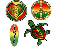 One love turtle