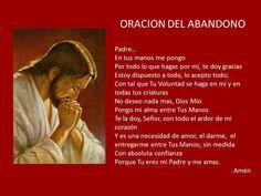 Oración del abandono
