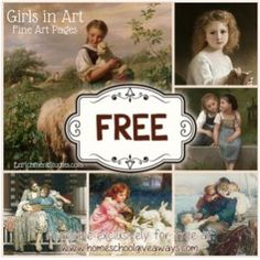 FREE Girls in Art collection!