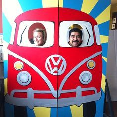 VW bus for Photo Booth