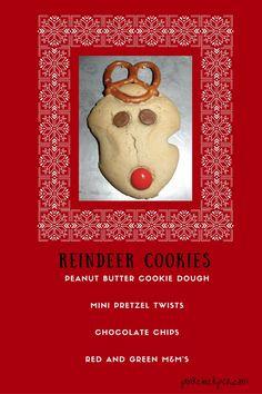 Easy Christmas Reindeer Cookies!