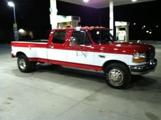 1996 Ford F-350 Crew Cab Dually 7.3 Liter Diesel, image 1