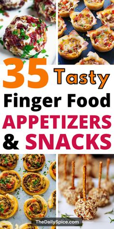 Mini Appetizers, Cheese Appetizers, Finger Food Appetizers, Appetizer Recipes, Christmas Appetizers, Appetizer Ideas, Finger Foods For Kids, Party Finger Foods, Baby Food Recipes