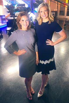 These smart news babes in Dallas are getting their wardrobe from Rent the Runway. I think they look great in these solid color dresses with half or sleeves. More colors please! Rent The Runway, News Anchor, Great Hairstyles, Casual Looks, Looks Great, Dallas, Coaching, Cold Shoulder Dress, Mood