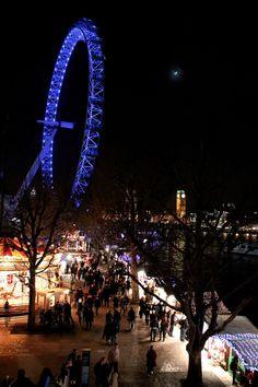 #London by night