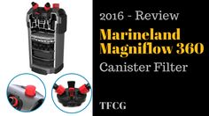 The Marineland C360Canister Filter is definitely worth a look if you're in the market for something that is affordableand low maintenance.Read more on www.tropicalfishcareguide.com Aquarium Maintenance, Aquarium Supplies, Planted Aquarium, Tropical Fish, Canisters, Fish Tank, Aquarium Filters, Plants, Accessories