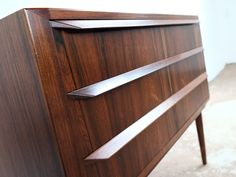 Chest Of 3 Drawers In Rosewood By Johannes Andersen photo 4