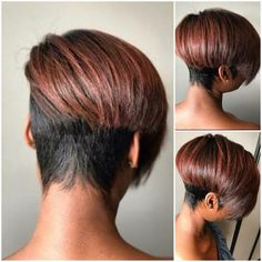 Best Short Pixie Hairstyles for Black Women 2018 – 2019 - The UnderCut Curly Pixie Haircuts, Short Bob Hairstyles, Black Women Hairstyles, Girl Hairstyles, Hairstyles 2016, 1940s Hairstyles, African Hairstyles, Formal Hairstyles, Blonde Pixie Cuts