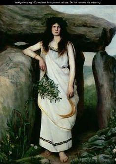The Druidess - Armand Laroche