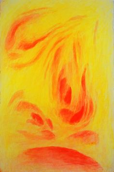 Luciano Balduino - RED on YELLOW is felt like ORANGE; it becomes active while YELLOW warms up