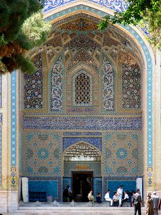 I dream of going to Iran to see the Islamic architecture that makes my heart skip a beat. Persian Architecture, Beautiful Architecture, Beautiful Buildings, Art And Architecture, Beautiful Places, Places Around The World, Oh The Places You'll Go, Places To Travel, Places To Visit