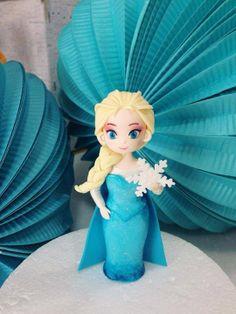 Disney Frozen Elsa fondant