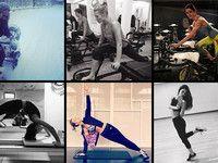 Pilates, Yoga, Spinning: So trainieren die Stars