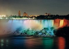 Nigara Falls From Canada