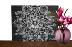 Check out this item in my Etsy shop https://www.etsy.com/listing/474796301/mandala-wall-art-mandala-painting-yoga