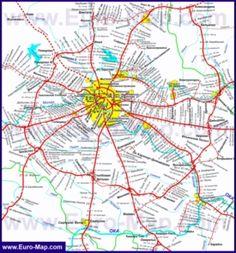 карта московской области карта дорог другий кредит в манивео