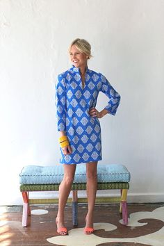 I could wear this every day!  Tunic Dress by Devon Haire.