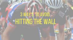 Just posted! 3 SURE WAY'S NOT TO HIT THE WALL DURING RACING OR TRAINING https://wolffmark.wordpress.com/2017/10/02/3-sure-ways-not-to-hit-the-wall-during-racing-or-training/?utm_campaign=crowdfire&utm_content=crowdfire&utm_medium=social&utm_source=pinterest