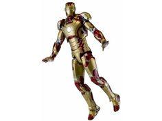 ToyzMag.com » Iron Man 3: Iron Man Mark 42 1/4 par NECA