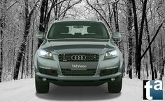 068 - WINTERTIME #Automotive #AUDI #Q7 #SUV quattro 3.6-liter Gasoline V6 280-hp