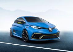 2017 Renault Zoe e-Sport Concept : Avec ses deux moteurs électriques - un situé à l'avant, le second à l'arrière - couplés à 450 kg de batteries, la Renault Zoé e-Sport Concept développe 460 chevaux.
