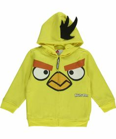 """Angry Birds """"Yellow Bird"""" Hoodie - yellow, 5 Angry Birds,http://www.amazon.com/dp/B00FE5QDSO/ref=cm_sw_r_pi_dp_i7lXsb0ABCWYM2PP"""