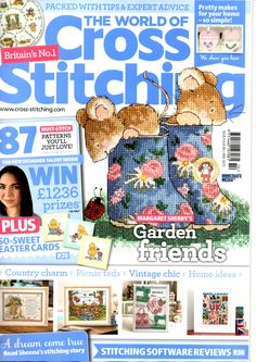 The World of Cross Stitching Issue 214 Patterns Pinned