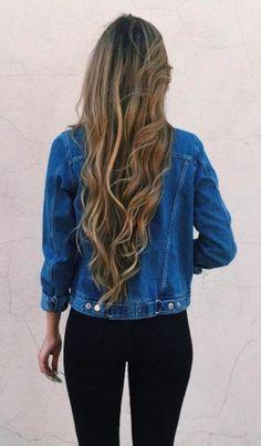 Jeans jacket.