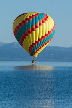 Hot Air Balloon Rides over Lake Tahoe | Photo Credit: Merick Rickman