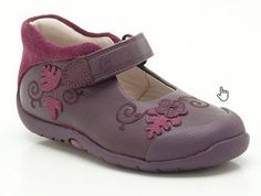 994eb8f1d09 Girls Shoes - Softly Mya Fst in Purple Leather from Clarks shoes