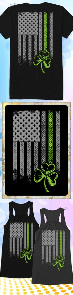 Irish American Flag - Limited edition. Order 2 or more for friends/family & save on shipping! Makes a great gift!