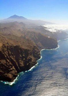 Los Gigantes, Tenerife. Nicolas de Ara