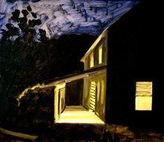 Johnson, VT Porch | Lois Dodd