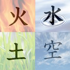 japanese symbols for the elements Japanese Tattoo Symbols, Japanese Symbol, Chinese Symbols, Kanji Tattoo, Symbol Tattoos, Hard Tattoos, Element Tattoo, Nature Symbols, Element Symbols
