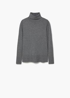 Turtleneck sweater | MANGO