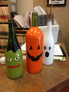 Creativity with wine bottles