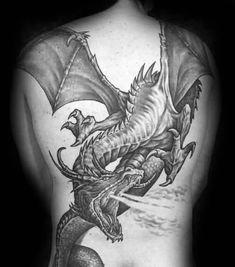 Flying Dragon Tattoo - Best Dragon Tattoos For Men: Cool Dragon Tattoo Designs a. - Flying Dragon Tattoo – Best Dragon Tattoos For Men: Cool Dragon Tattoo Designs and Ideas For Guys - 3d Dragon Tattoo, Dragons Tattoo, Dragon Tattoos For Men, Chinese Dragon Tattoos, Dragon Sleeve Tattoos, Cool Tattoos For Guys, Dragon Tattoo Designs, Trendy Tattoos, Tribal Tattoos