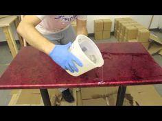 Table Top Epoxy Tutorial   Tabletop Epoxy - YouTube VIDEO