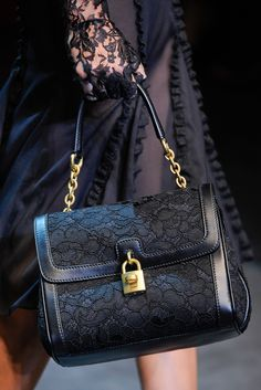 Detail of Dolce & Gabbana Fall 2012 runway show. Image from style.com. #fall fashion #dolce #runway