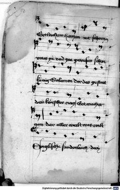 Mönch von Salzburg. Oswald von Wolkenstein: Geistliche Lieder mit Melodien Bayern/Österreich, erste Hälfte 15. Jh.: 3. Viertel 15. Jh. Cgm 715 Folio 108