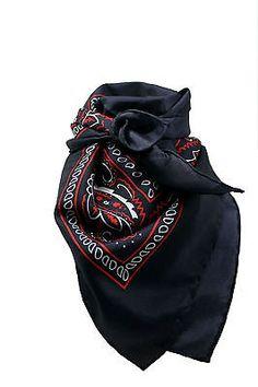 Cowboy Wild Rag, Western Scarf, Bandana Design, Choose From 3 Colors