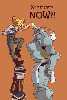 Fullmetal Alchemist: Who is short NOW?! by kaponsh.deviantart.com on @DeviantArt