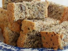 Healthy Banana Bread (Low fat/low sugar recipe made with agave and applesauce) (Low Carb Kuchen Apfelmus) Low Sugar Recipes, No Sugar Foods, Banana Bread Recipes, Diabetic Recipes, Low Sugar Banana Bread, Healthy Banana Bread, Sugar Bread, Agaves, Kos