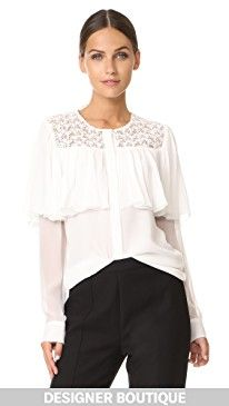 New Giambattista Valli Blouse online. Find the perfect Michelle Mason Clothing from top store. Sku ybiw56032qfjl93001