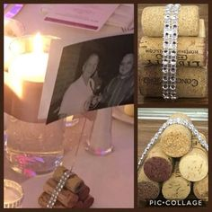 Cork and Bling picture holder