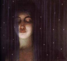 Louis Welden Hawkins (1849 - 1910) - A veil, circa 1890