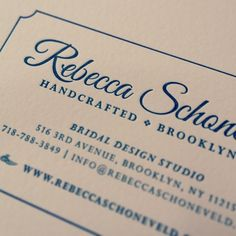 15 best business cards branding images on pinterest branding loving these soft pink businesscards bridal brooklyn letterpress wedding reheart Image collections