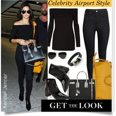 How To Wear Get the look - All Black - Kendall Jenner style... Outfit Idea 2017 - Fashion Trends Ready To Wear For Plus Size, Curvy Women Over 20, 30, 40, 50